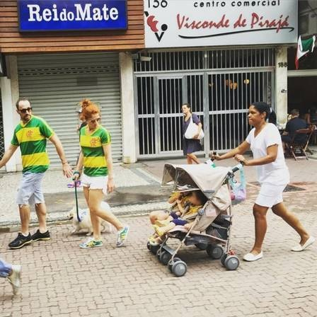 Protests in Brazil - Nanny
