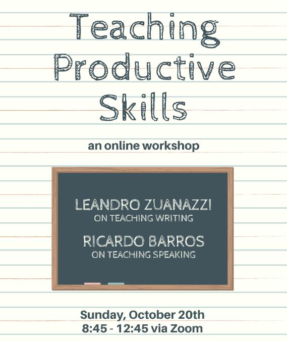 Teaching productive skills