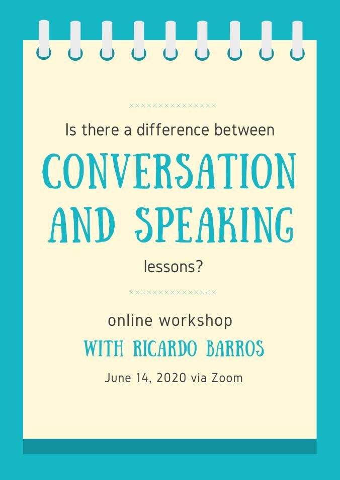Conversation and speaking